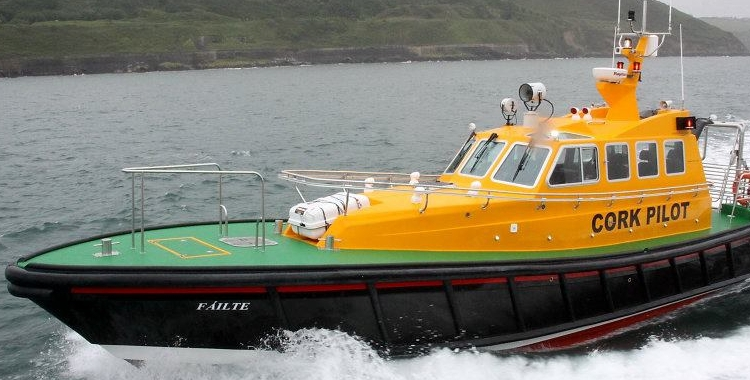 Pilot Cork of Savehaven Marine, Ireland