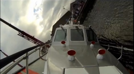 Safehaven Marine undertake live (manned) self-righting roll over test